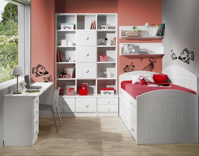 Dormitorio juvenil contemporáneo 16