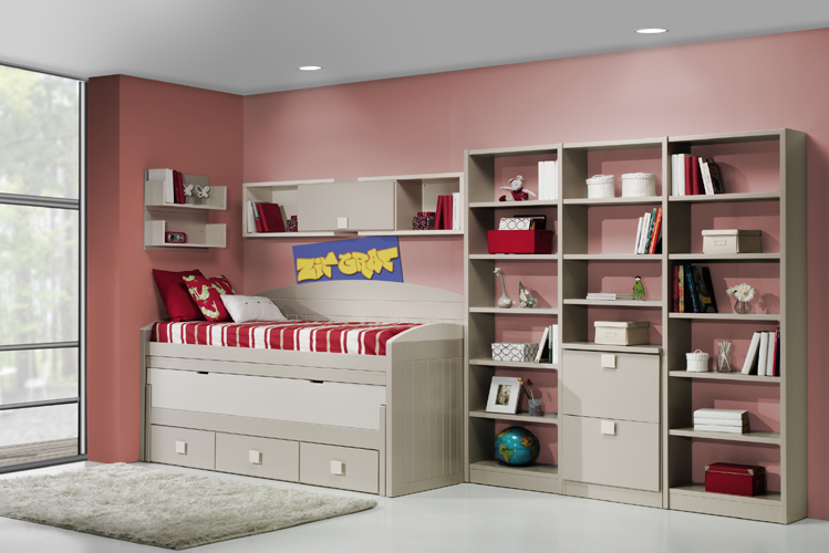Dormitorio juvenil contemporáneo 15