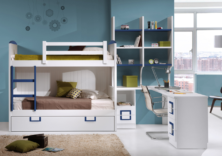 Dormitorio juvenil contemporáneo 13