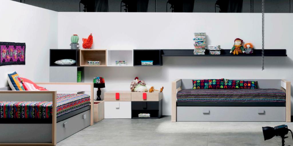 Dormitorio juvenil moderno 42