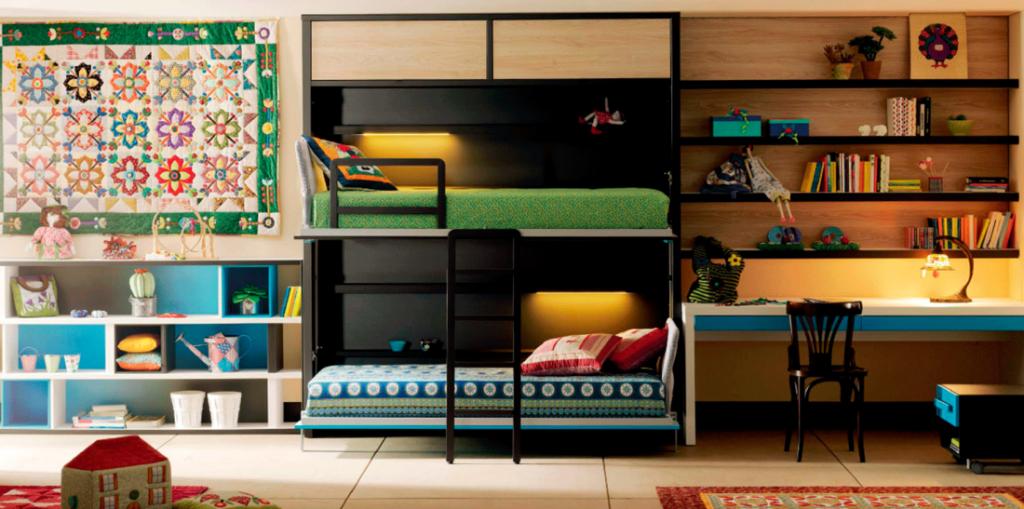 Dormitorio juvenil moderno 40