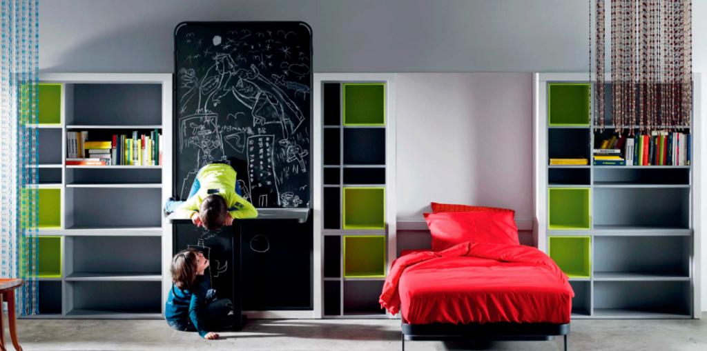 Dormitorio juvenil moderno 39