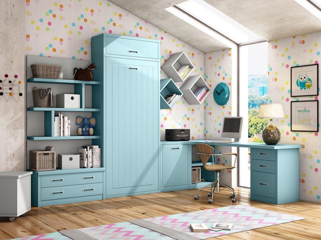 Dormitorio juvenil contemporáneo 6