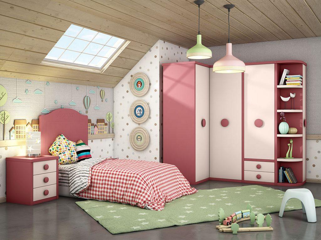 Dormitorio juvenil contemporáneo 5