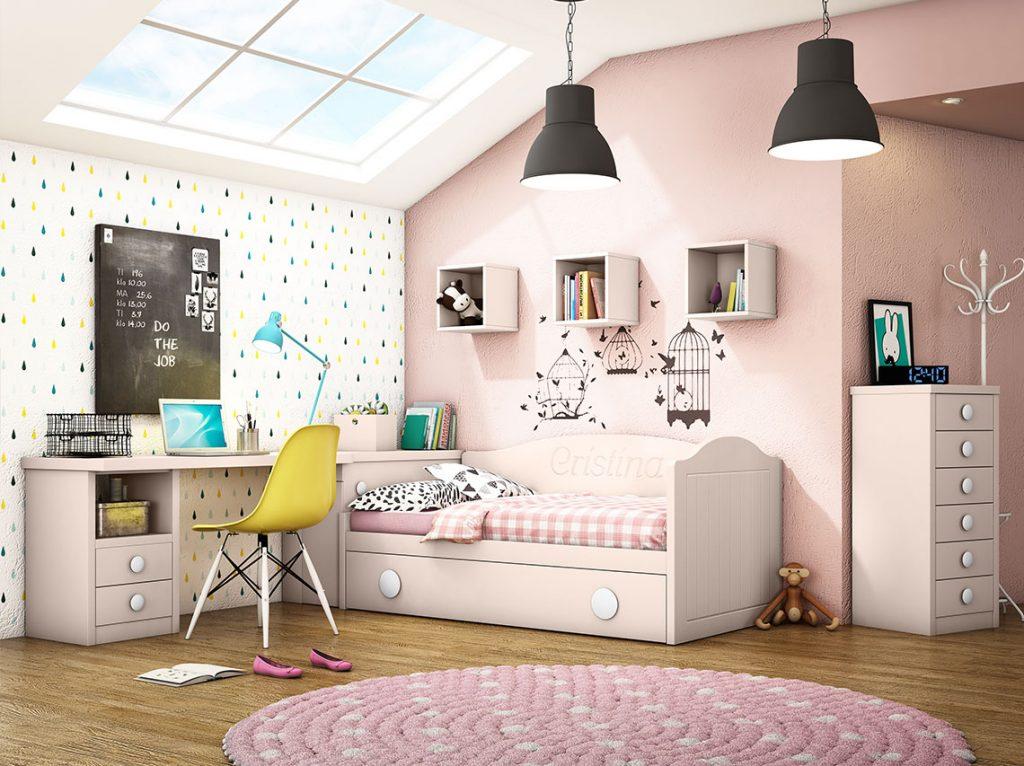 Dormitorio juvenil contemporáneo 19