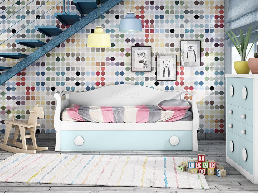 Dormitorio juvenil contemporáneo 18