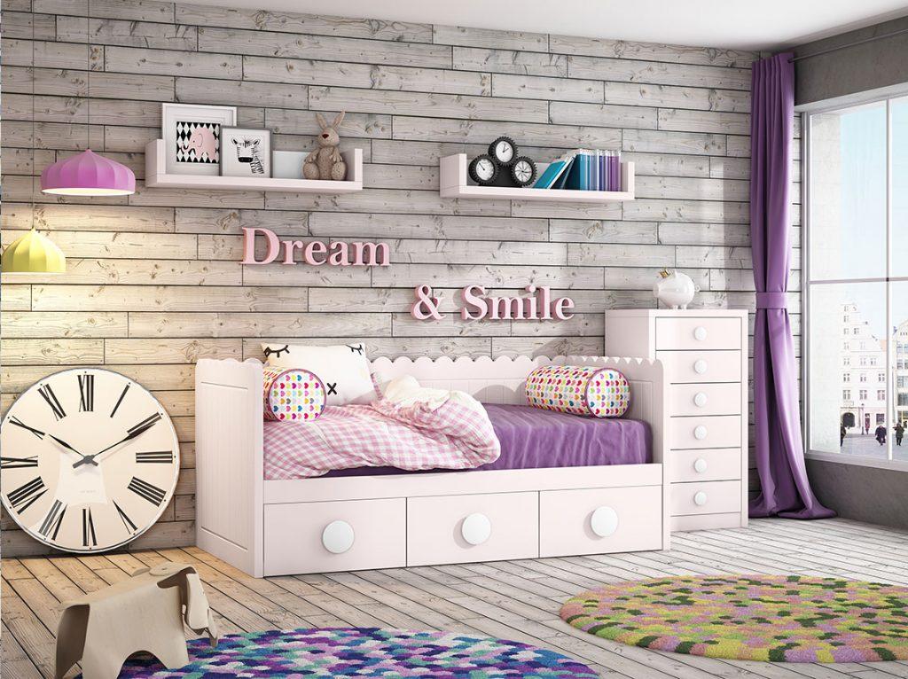 Dormitorio juvenil contemporáneo 17
