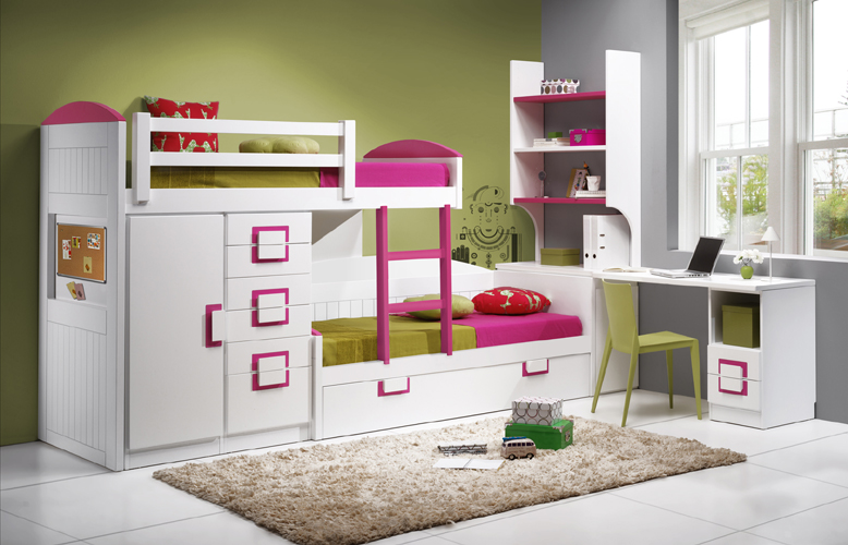 Dormitorio juvenil contemporáneo 14