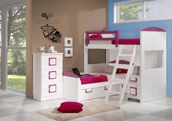Dormitorio juvenil contemporáneo 12