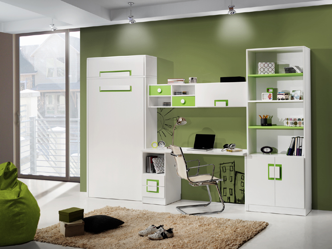 Dormitorio juvenil contemporáneo 9