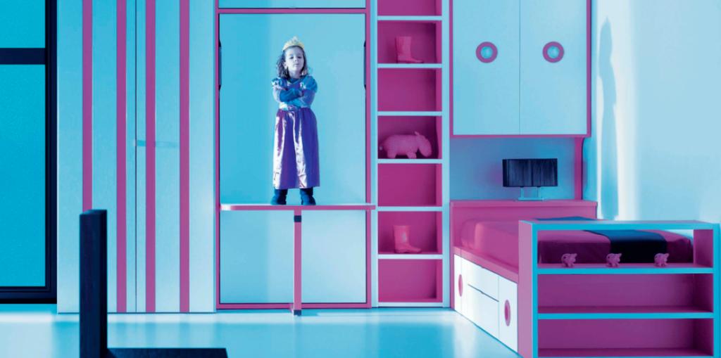 Dormitorio juvenil moderno 38