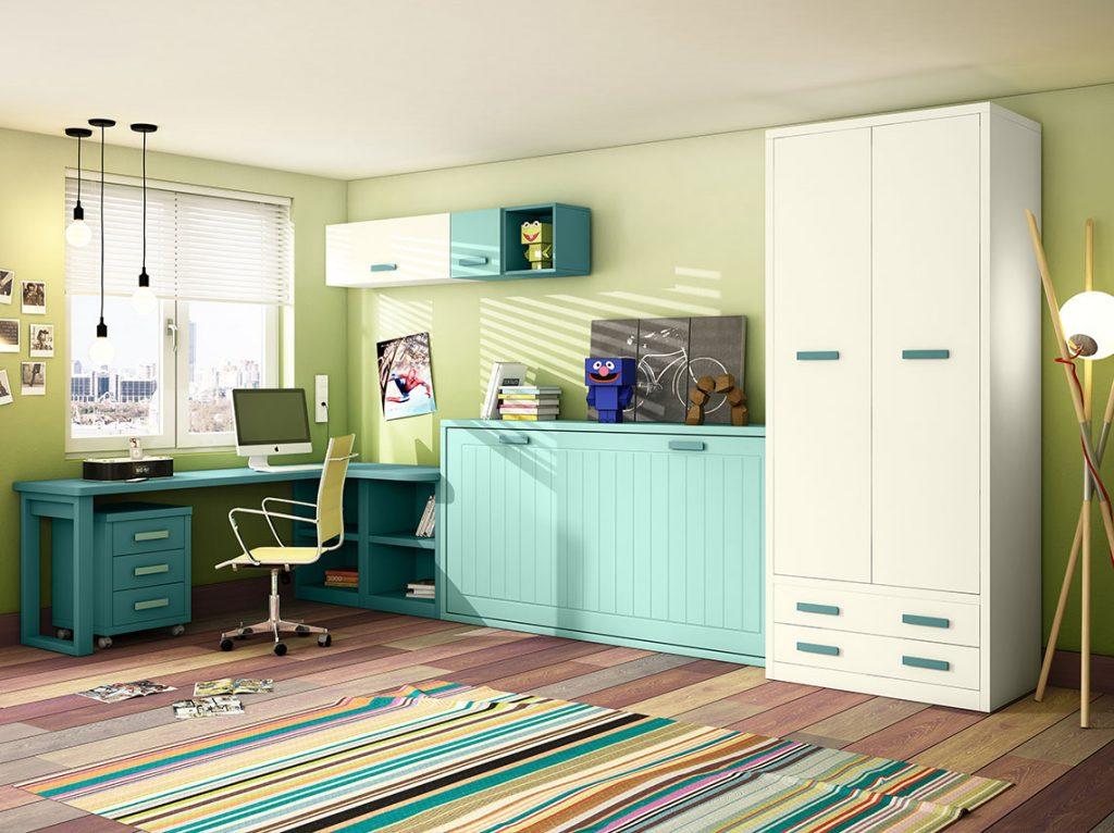 Dormitorio juvenil contemporáneo 8