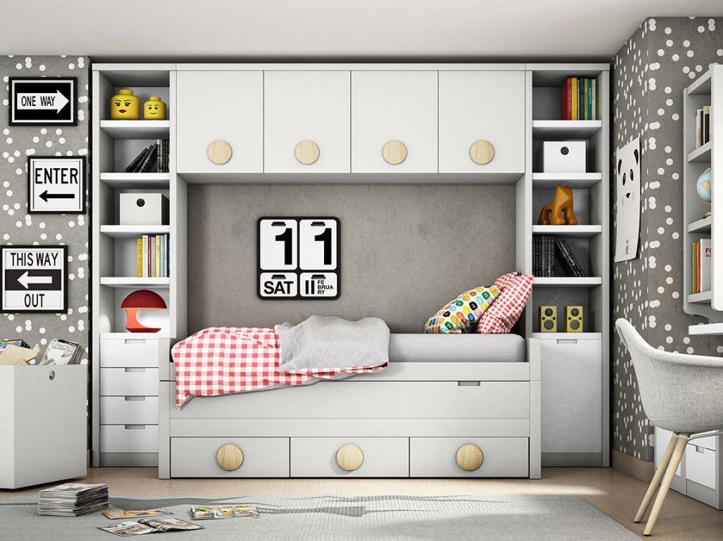 Dormitorio juvenil contemporáneo 23