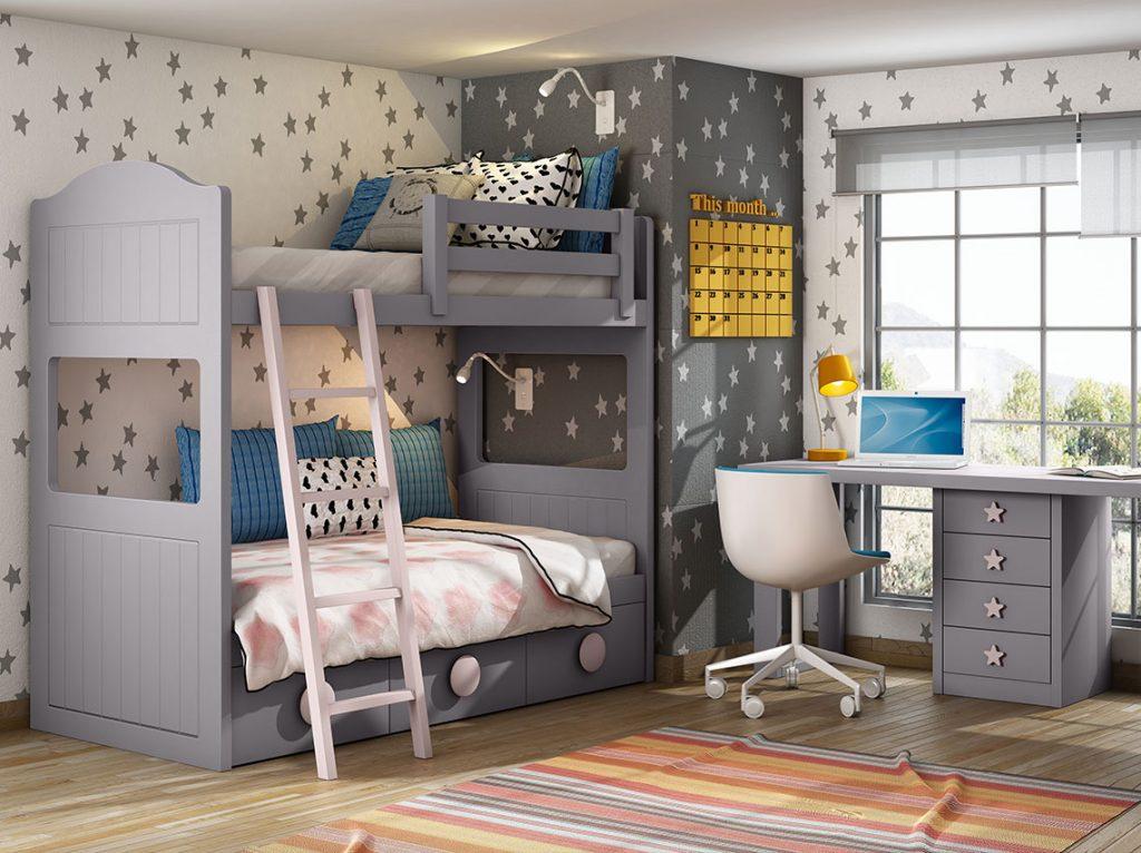 Dormitorio juvenil contemporáneo 20