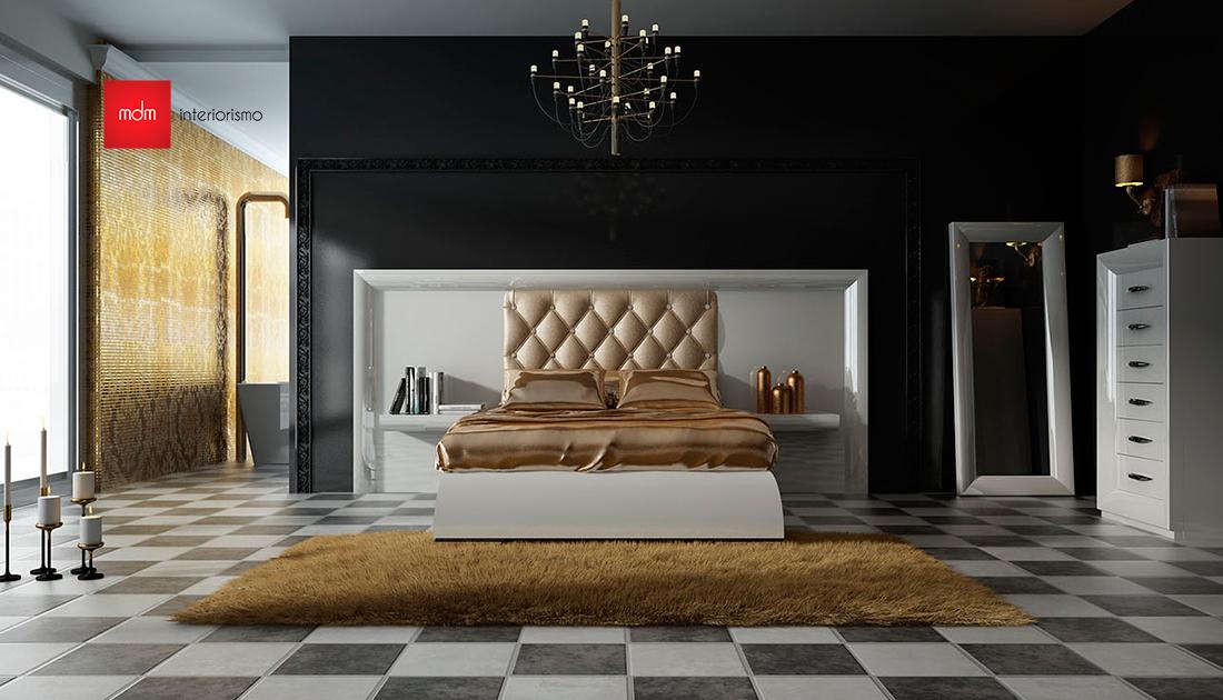 Dormitorio contemporáneo 4