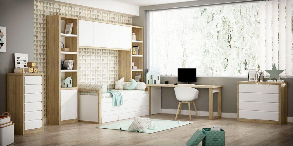 Dormitorio juvenil contemporáneo 25