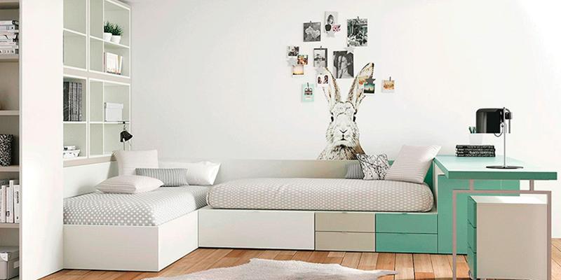 dormitorio juvenil moderno-