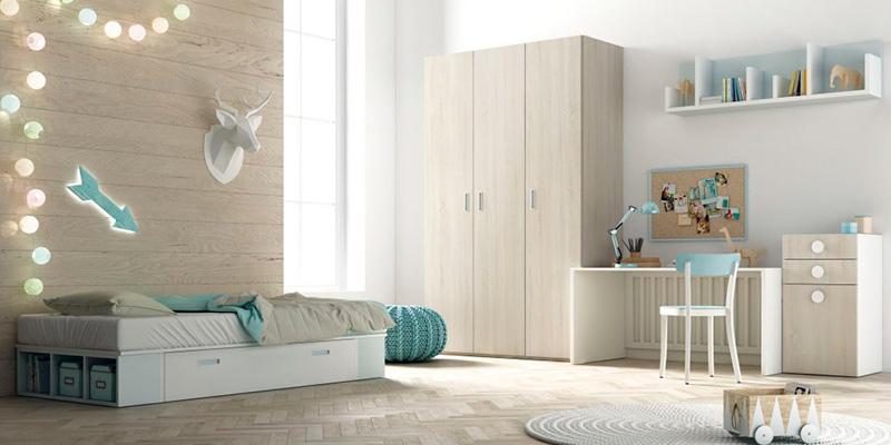 Dormitorios infantiles: últimas tendencias