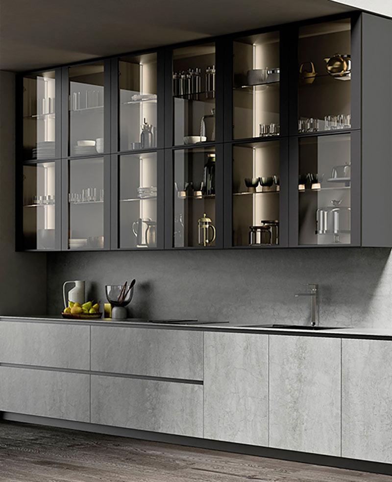 muebles de cocina con almacenaje