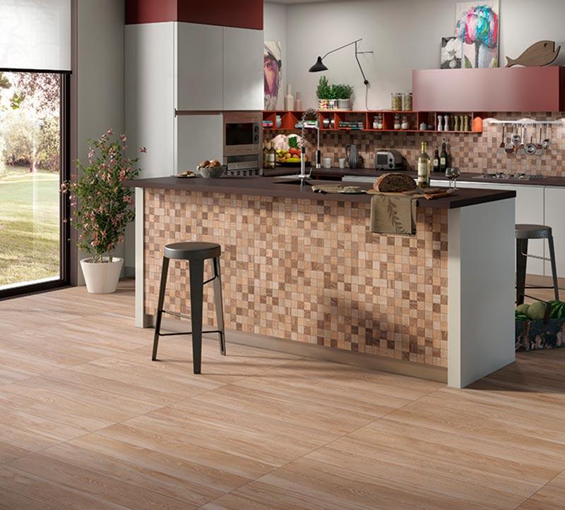 suelo madera cocina